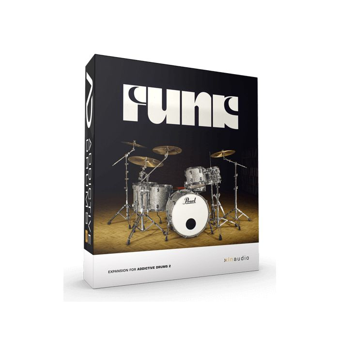 XLN Audio Addictive Drums 2 addon expansion pack funk