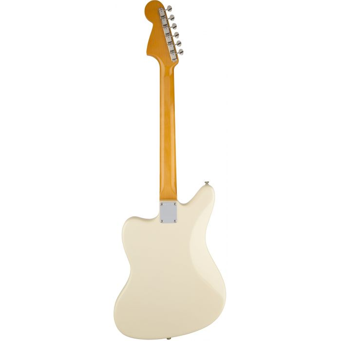 Fender Johnny Marr Signature Jaguar Electric Guitar in Olympic White Back