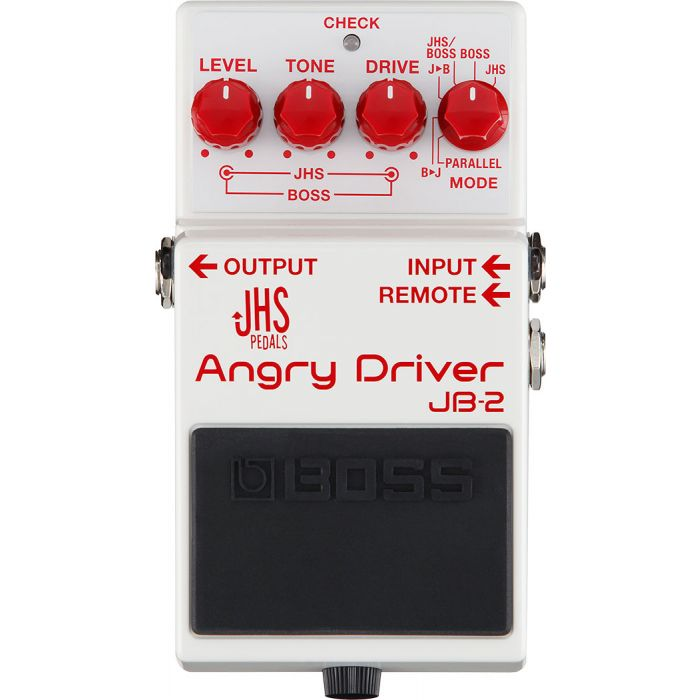 Boss JB-2 Angry Driver Dual Circuit Overdrive Pedal