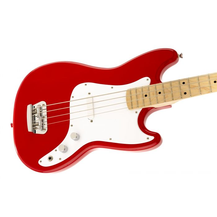 Fender Squier Bronco Bass for Beginners Red Short Scale