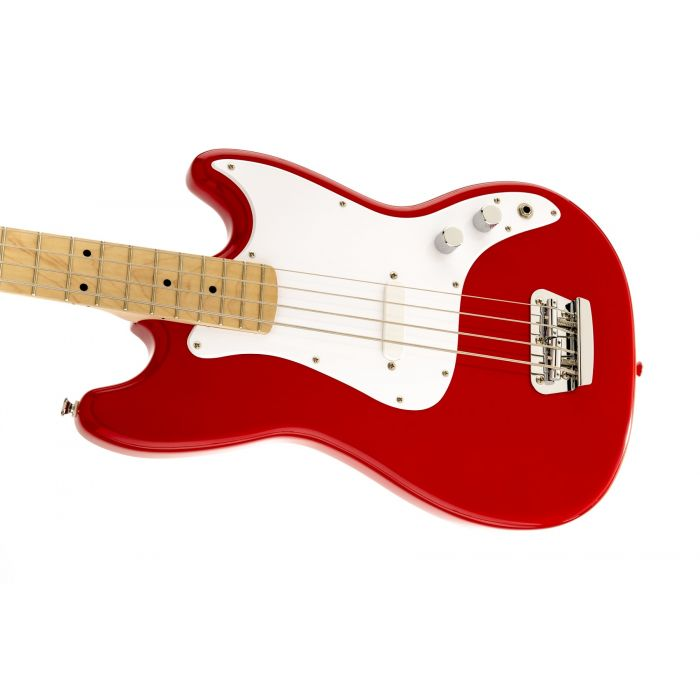 Squier Bronco Bass Guitar for Beginners Small Red