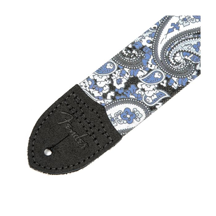 Fender Paisley Denim Guitar Strap Blue