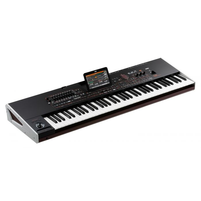 Korg Pa4X Professional Arranger Keyboard 76 Keys Angle