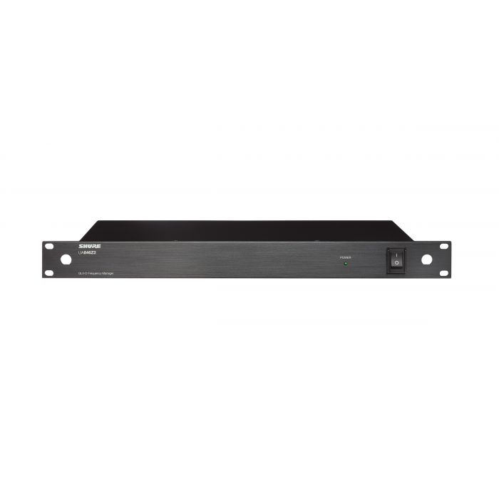 Shure GLX-D Advanced Frequency Manager UA846Z2 Angle