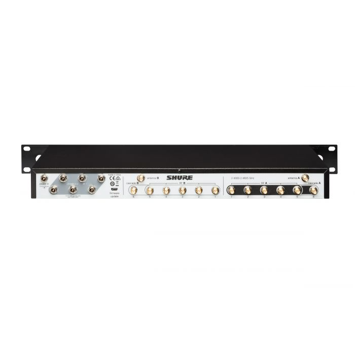 Shure GLX-D Advanced Frequency Manager UA846Z2 Rear Angle