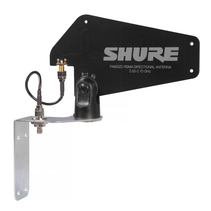 Shure GLX-D Advanced PA805Z2-RSMA Passive Directional Antenna with Mounting Hardware