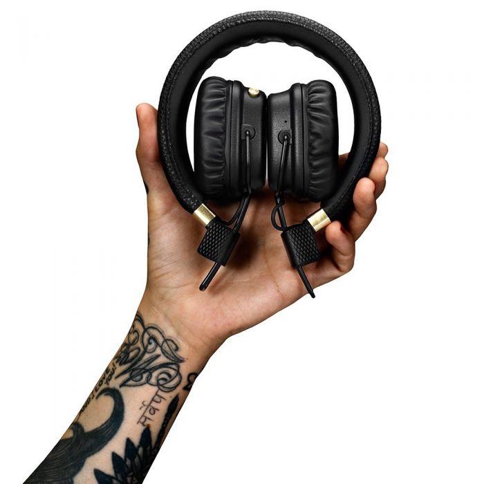 Marshall Major II Bluetooth Wireless Headphones Folded