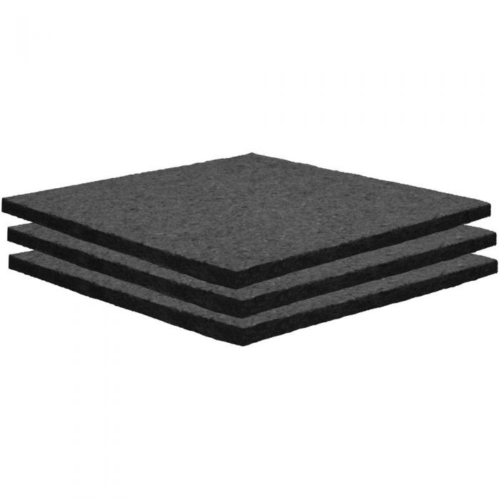 Auralex Sonolite 2 x1 Acoustic Panel in Black, 2 Pack