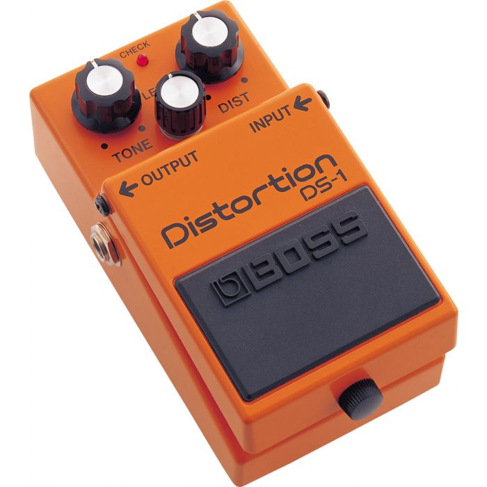 Boss DS-1 Distortion Pedal Angle