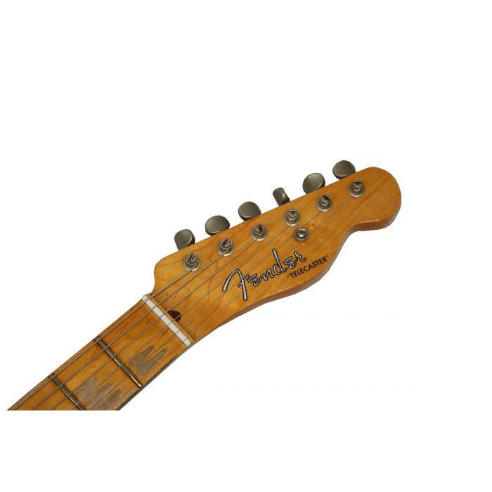 Fender Custom Shop 52 Tele Aged maple Neck headstock
