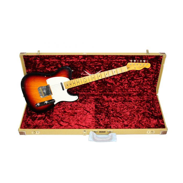 Fender Custom Shop Postmodern Tele 3t Sunburst Case