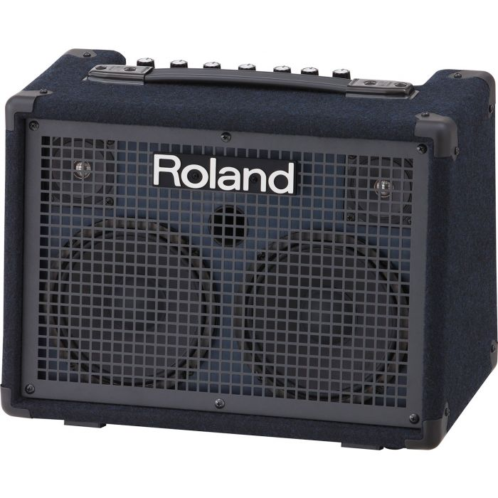 Roland KC-220 Portable Keyboard Amplifier Angle