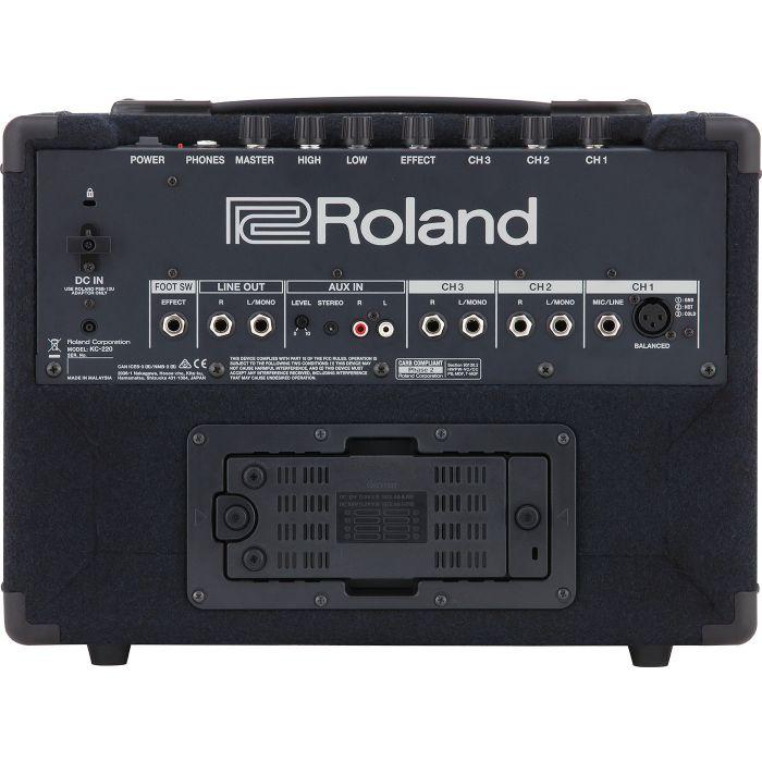 Roland KC-220 Portable Keyboard Amplifier Rear