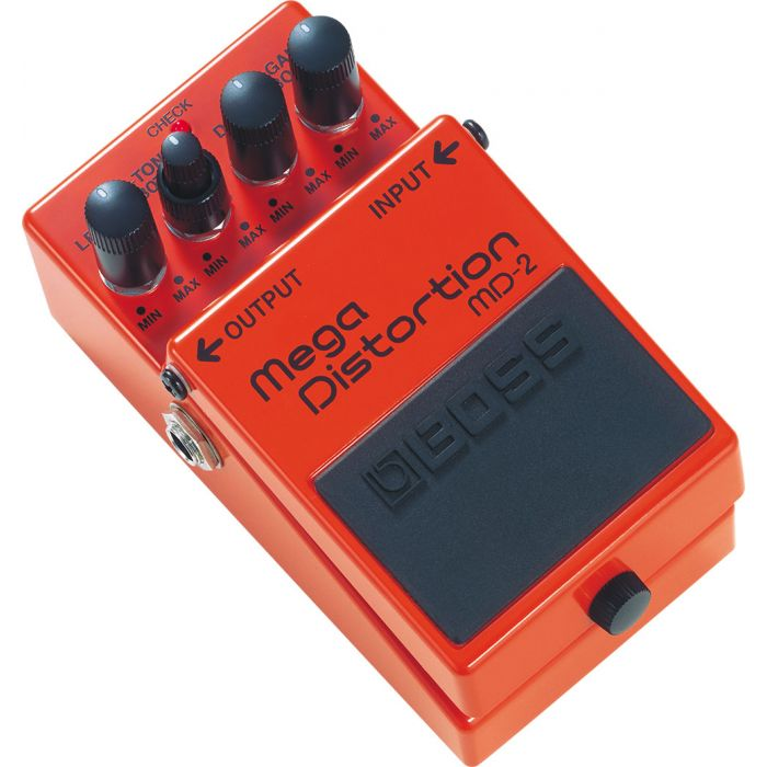 Boss MD-2 Mega Distortion Pedal Angle