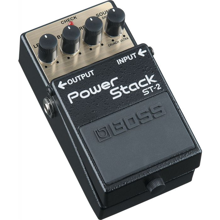 Boss ST-2 Power Stack Pedal Angle