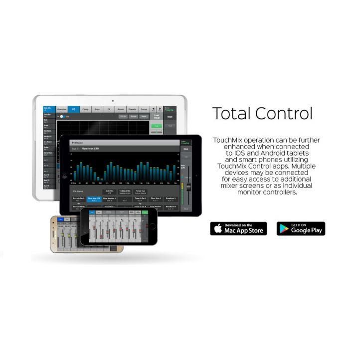 QSC TouchMix-30 Pro App