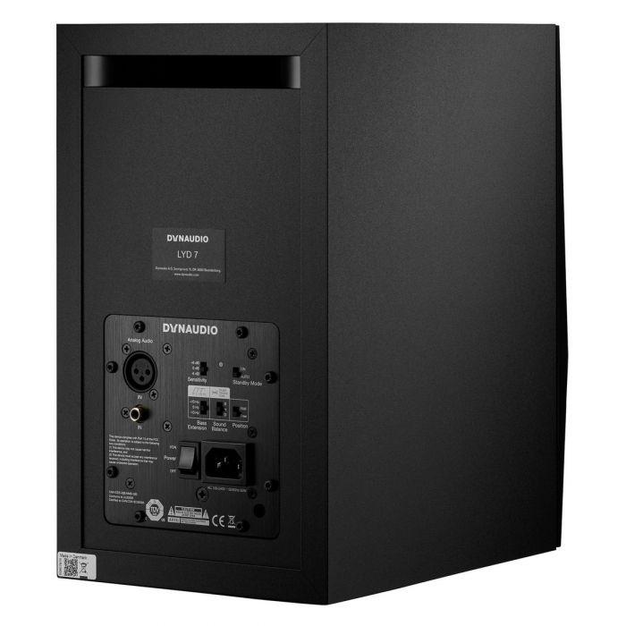 Dynaudio LYD-7 Studio Monitor (Black) Rear