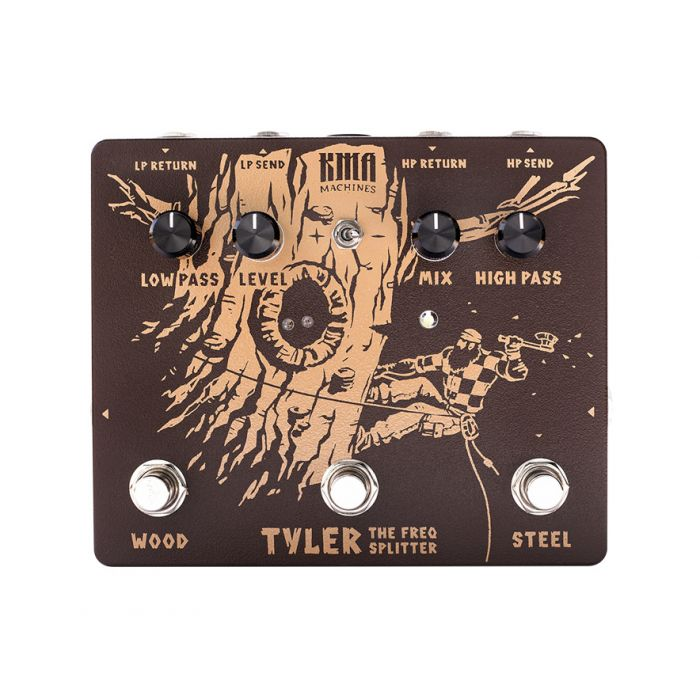 KMA Audio Machines Tyler Frequency Splitter Pedal