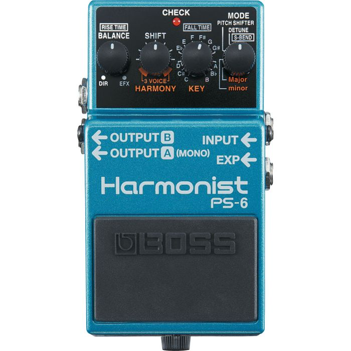 Boss PS-6 Harmonist Effects Compact Pedal