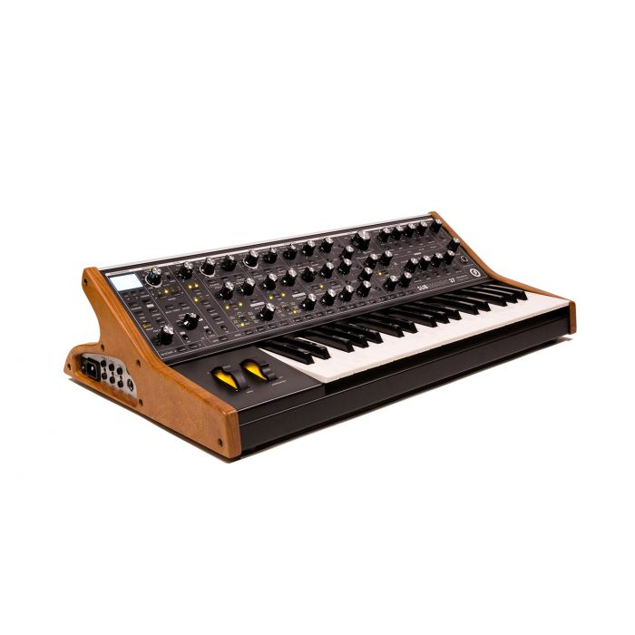 Moog Subsequent 37 Analogue Synthesizer Black Angle