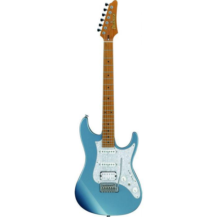 Ibanez AZ2204-ICM AZ Guitar with Roasted Maple Neck in Ice Blue Metallic