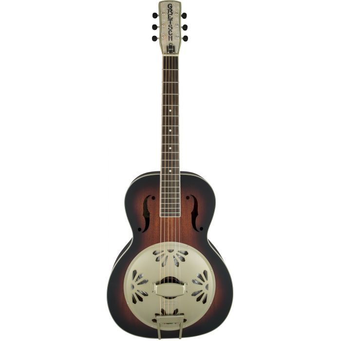 Grestch G9241 Alligator Round Neck Electro-Acoustic Resonator Guitar Padauk