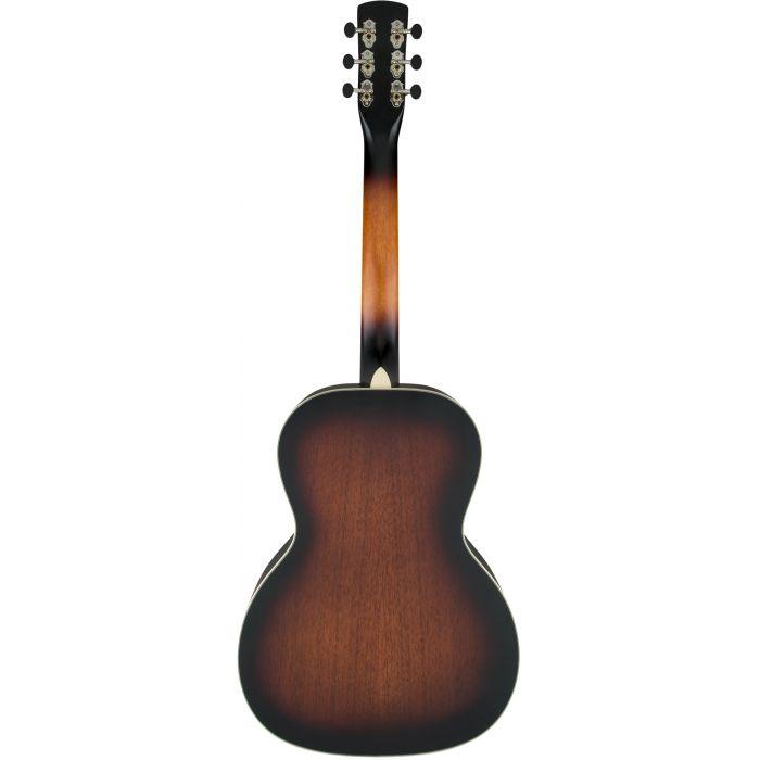 Grestch G9241 Alligator Round Neck Electro-Acoustic Resonator Guitar Padauk Back