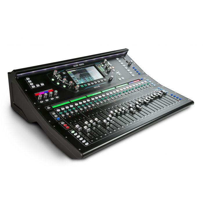 Allen & Heath SQ-6 96kHz Digital Mixing Desk Angle