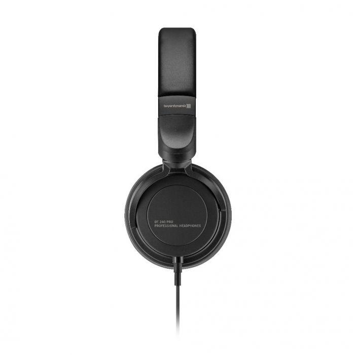 Side view of a set of Beyerdynamic DT240 Pro Studio Headphones 34 ohm