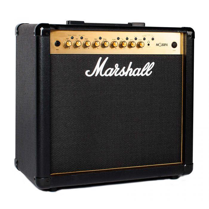 Marshall MG50GFX Guitar Combo Amplifier Angle