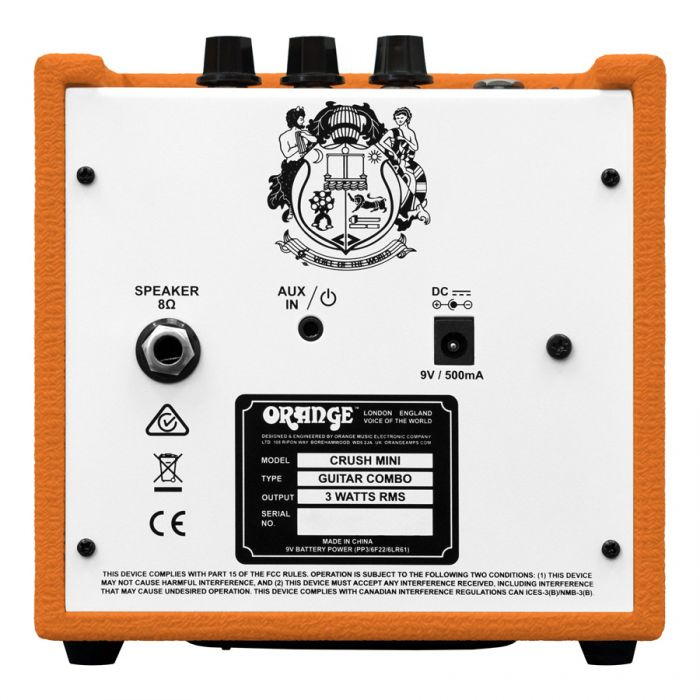 Orange Crush Mini 3 Watt Combo Amp