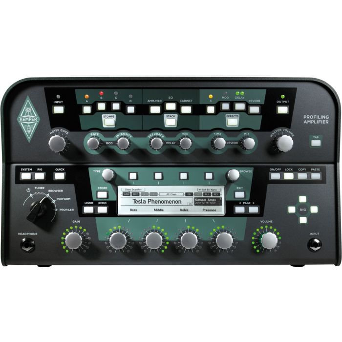 Kemper Profiling Amplifier Head for Guitar and Bass