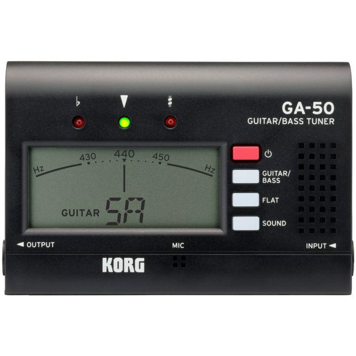 Korg GA-50 Guitar and Bass Tuner