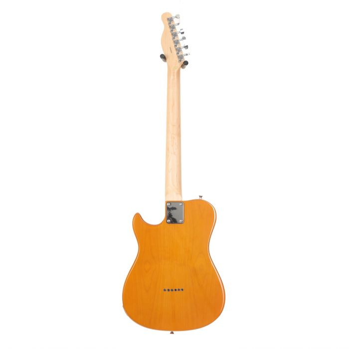 Back of Eastcoast GT100H Deluxe Electric Guitar Butterscotch Blonde