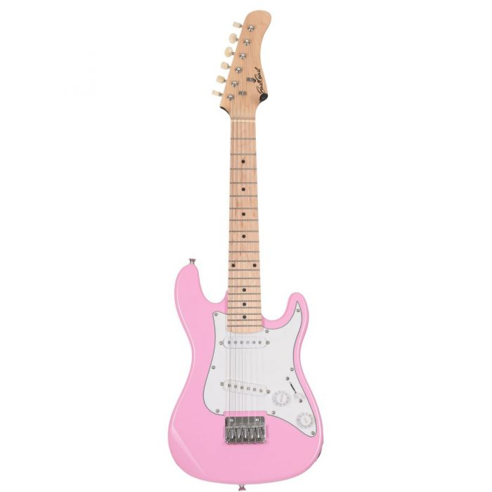 Eastcoast GK20 V2 Pink Mini S-Type Electric Guitar