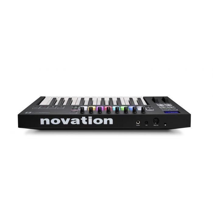 Rear View of Novation Launchkey 25 Mk3 USB MIDI Keyboard