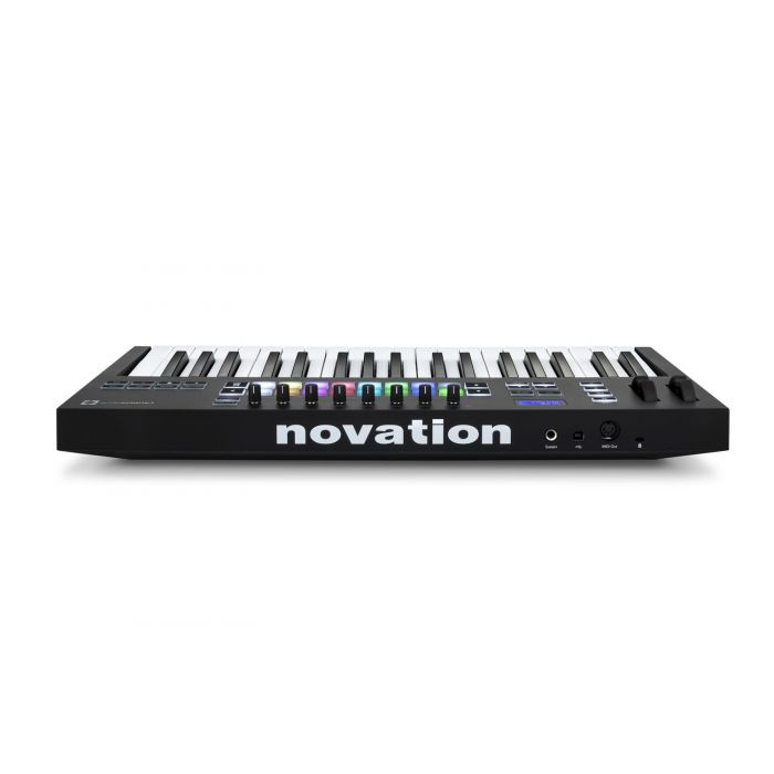 Rear View of Novation Launchkey 37 Mk3 MIDI Keyboard
