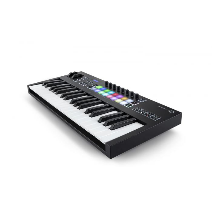 Another Angled View of Novation Launchkey 37 Mk3 MIDI Keyboard