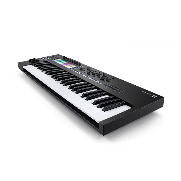 Another Angled View of Novation Launchkey 49 MK3 MIDI Keyboard