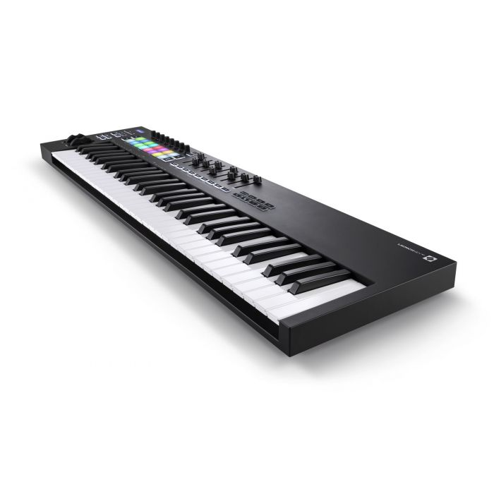 Another Angled View of Novation Launchkey 61 MK3 MIDI Keyboard