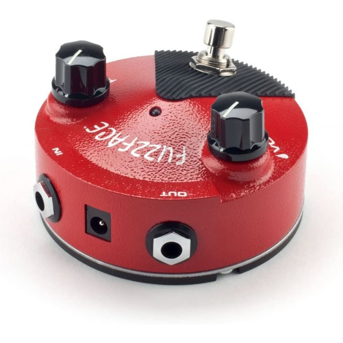 Rear View of Dunlop FFM2 Fuzz Face Mini Germanium Guitar Pedal