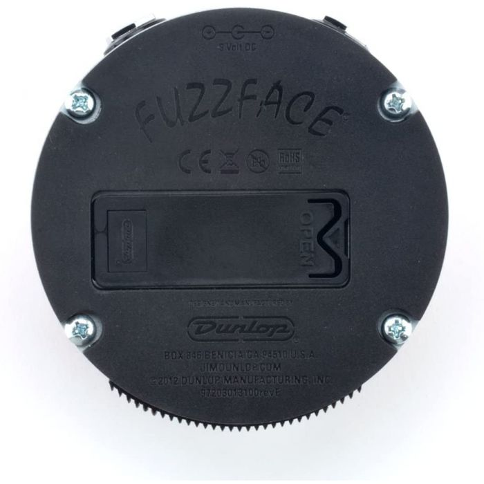 Under Side of Fuzz Face Pedal