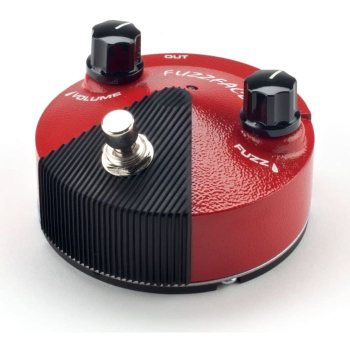 Front of Fuzzfce Fuzz Pedal
