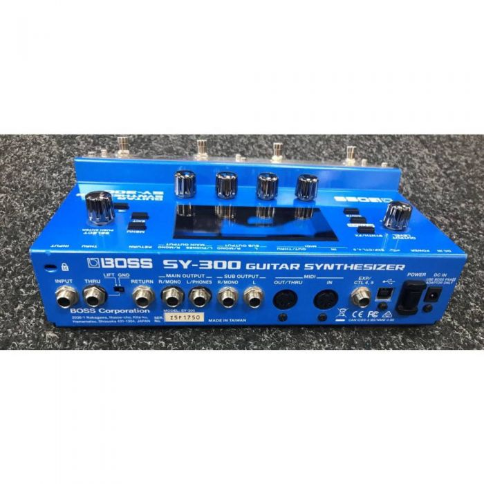Rear View of B-Stock Boss SY-300 Guitar Synthesizer Pedal