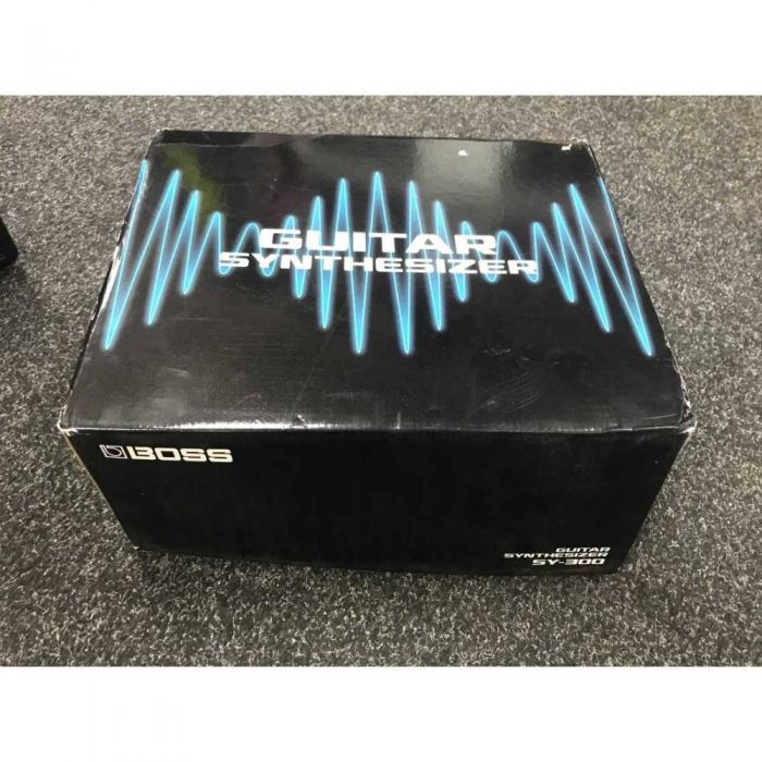 -Stock Boss SY300 Guitar Synth Pedal Closed Box