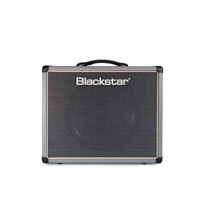 Front view of a Blackstar Limited Edition HT-5R MKII Guitar Combo, Bronco Grey