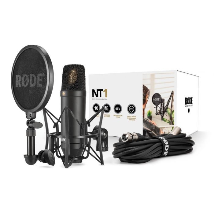 Rode NT1 Kit Condenser Microphone Pack