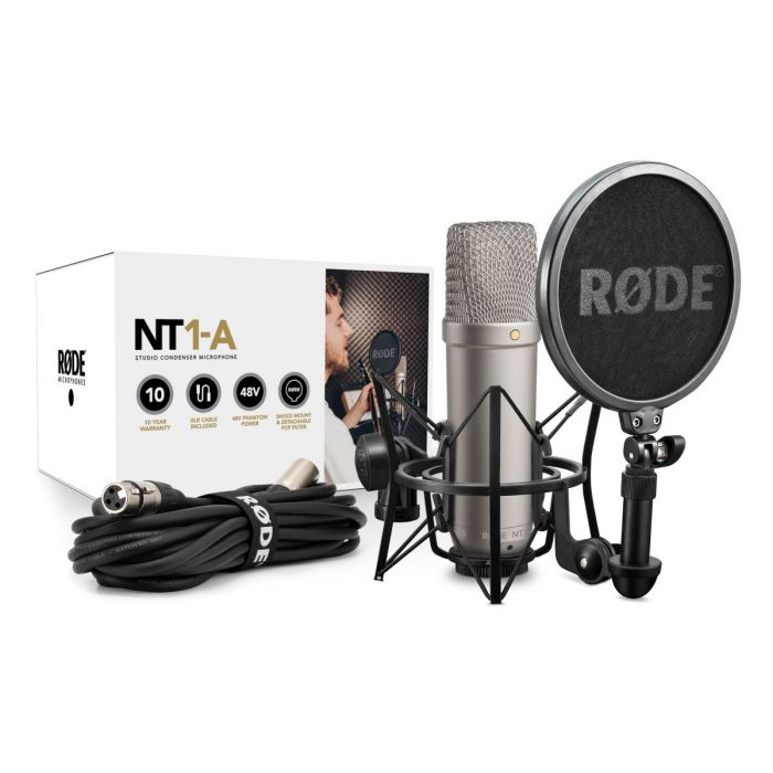 Rode NT1-A Condenser Microphone Package