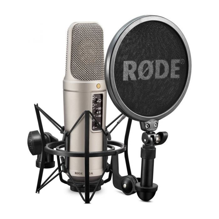 Rode NT2-A Studio Condenser Microphone with SM6 Shock Mount