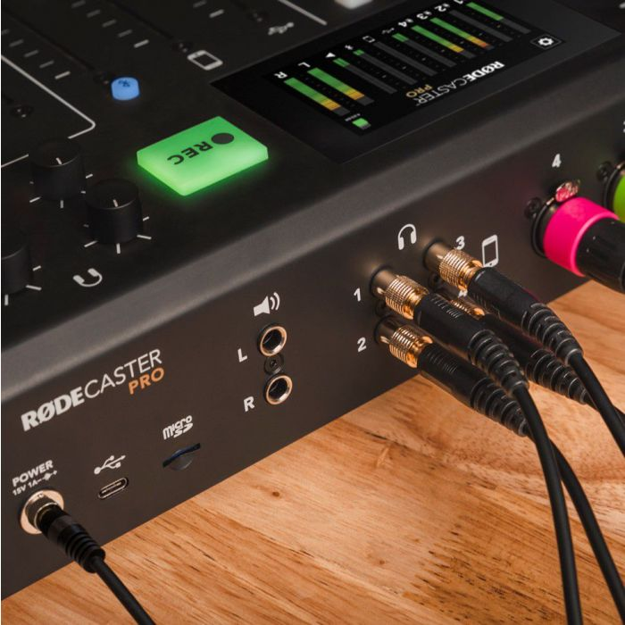 RODE HJA-4 Headphone Adapters In Use